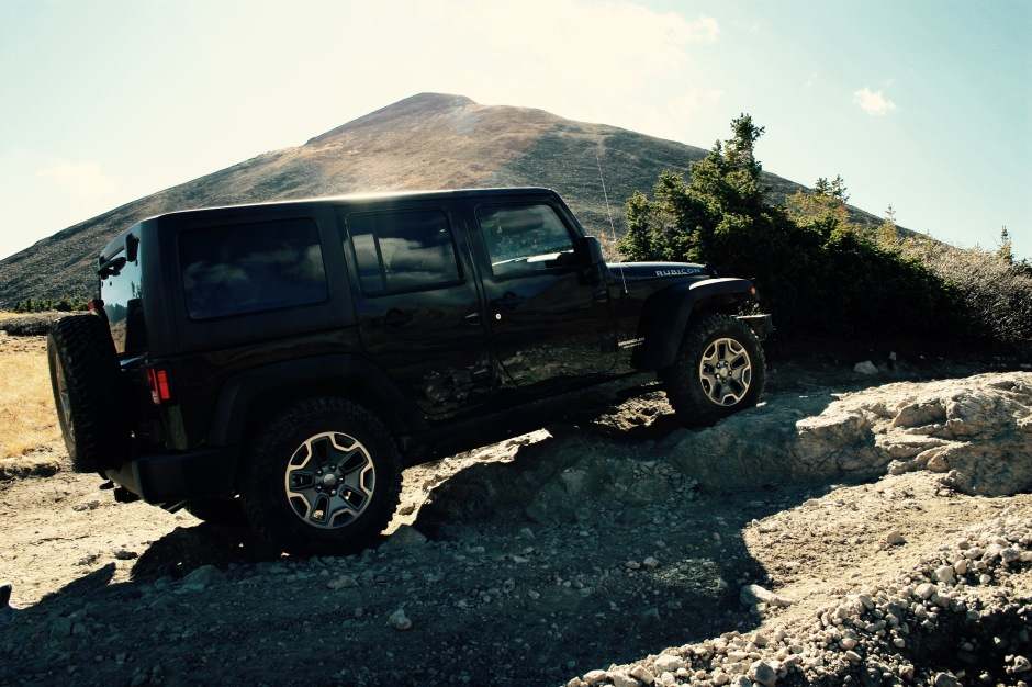 Our Jeep Wrangler Unlimited Rubicon in the Colorado mountains