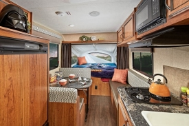 Inside shots of the RV