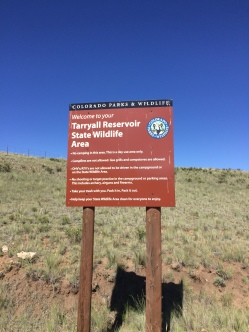 Tarryall Sign